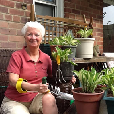 Gardening with Multiple Sclerosis